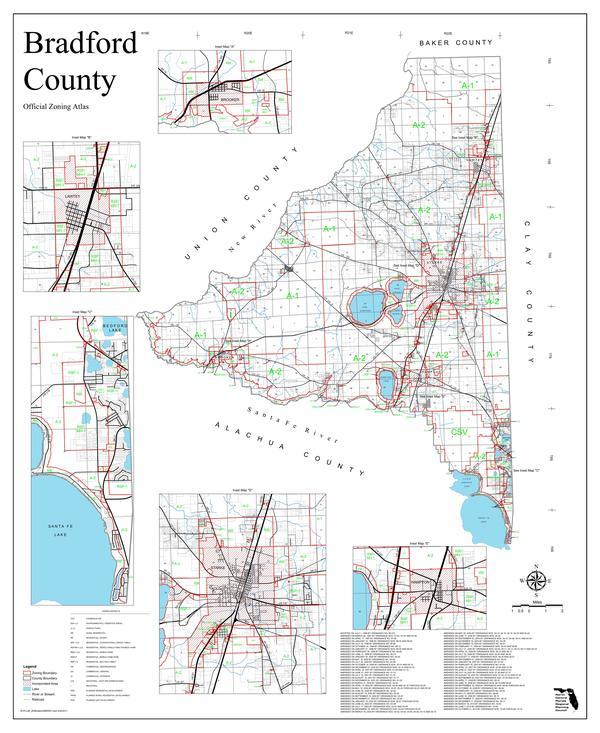 Bradford County Official Zoning Atlas