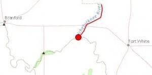 384x191 Ichetucknee River, in Santa Fe and Itchetucknee Rivers, by John S. Quarterman, for WWALS.net, 25 June 2014