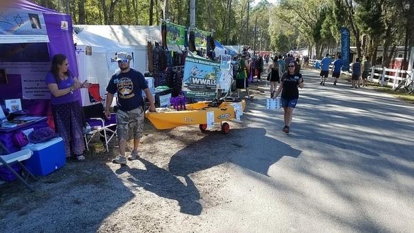 Return of the kayak, Sailing Lake Ave.