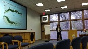 Seagrasses Presenter, Coastal Rivers Basin Presentation