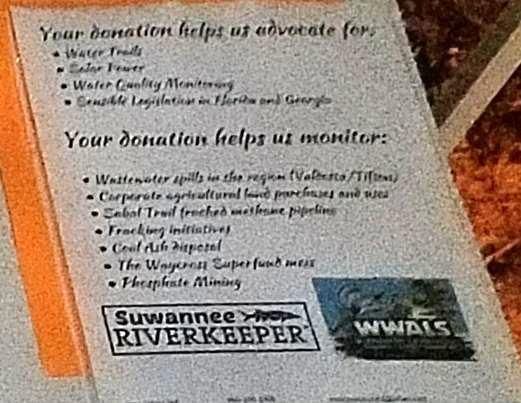 Donations and Advocacy, Issues