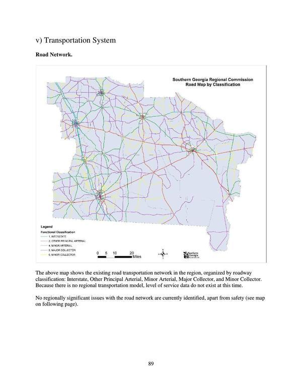 Page Road Network Map - Network map page