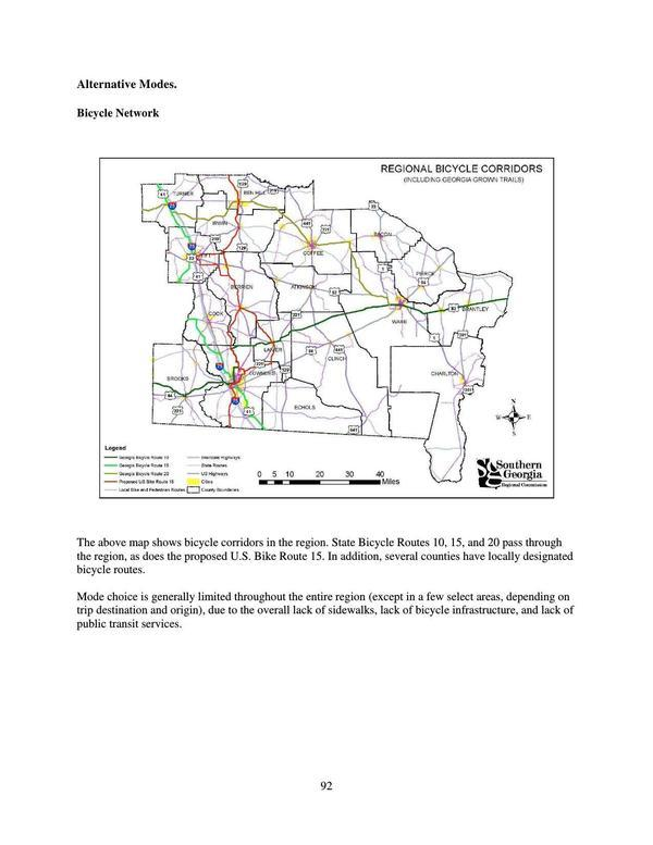Page 92: Bicycle Network Map