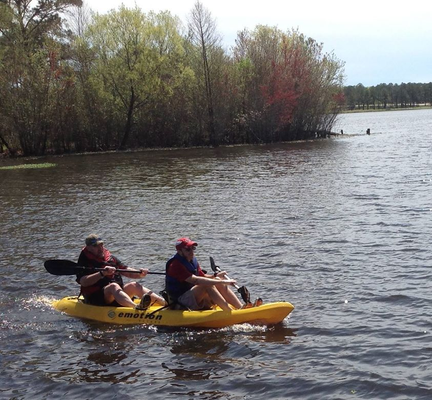 843x780 The top finishers in the male tandem kayak category. These guys overcame a rough start to finish strong., in Finish, by Bret Wagenhorst, for WWALS Watershed Coalition, Inc., 29 March 2014