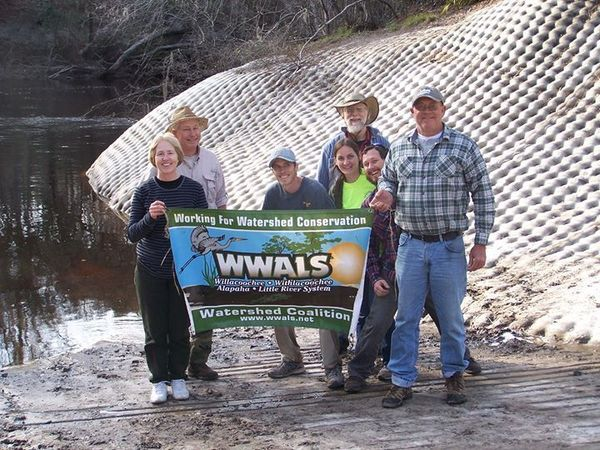 600x450 WWALS At Sasser Landing, in Sasser deanna, by Deanna Mericle, for WWALS.net, 15 February 2015