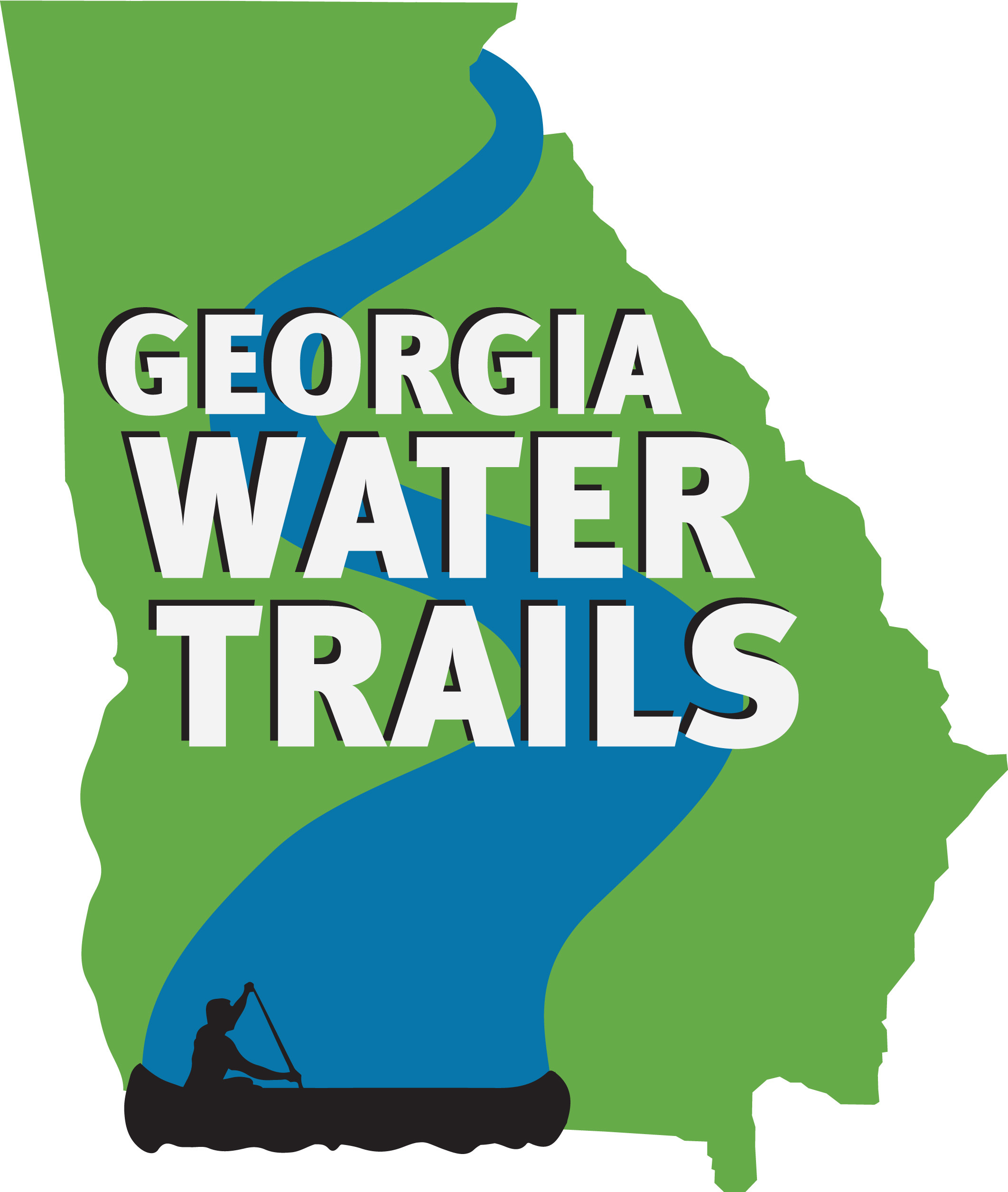 2124x2511 Logo, in Georgia Water Trails, by John S. Quarterman, for WWALS.net, 12 March 2015