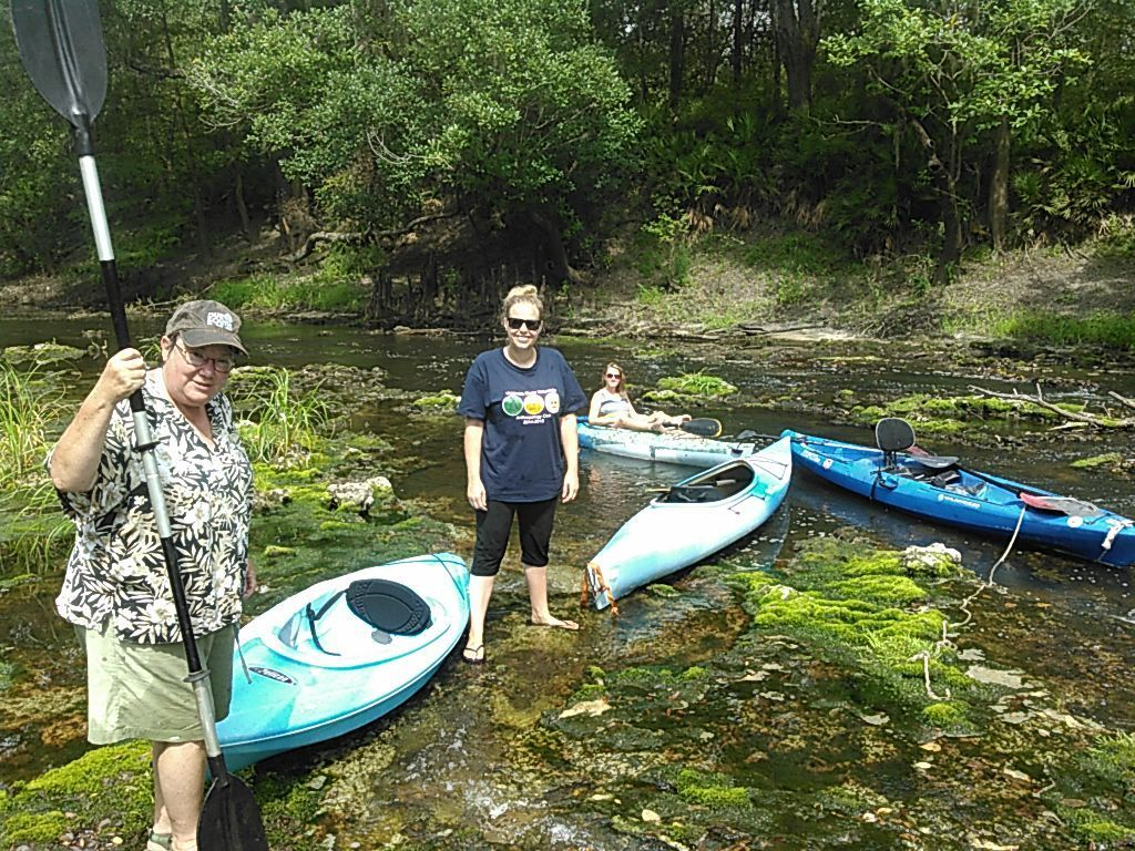 1024x768 Fun on the rocks 30.7959785, -83.4514465, in Sabal Trail @ Withlacoochee @ US 84, by John S. Quarterman, for WWALS.net, 28 August 2015