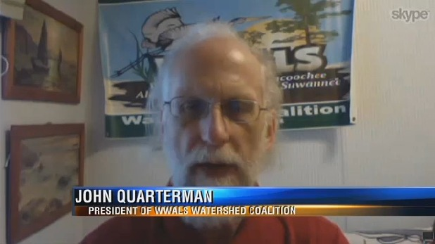 618x347 John S. Quarterman, in WWALS not surprised by pipeline ruling; fights on, by WTXL, Tallahassee, Florida, for WWALS.net, 14 November 2015