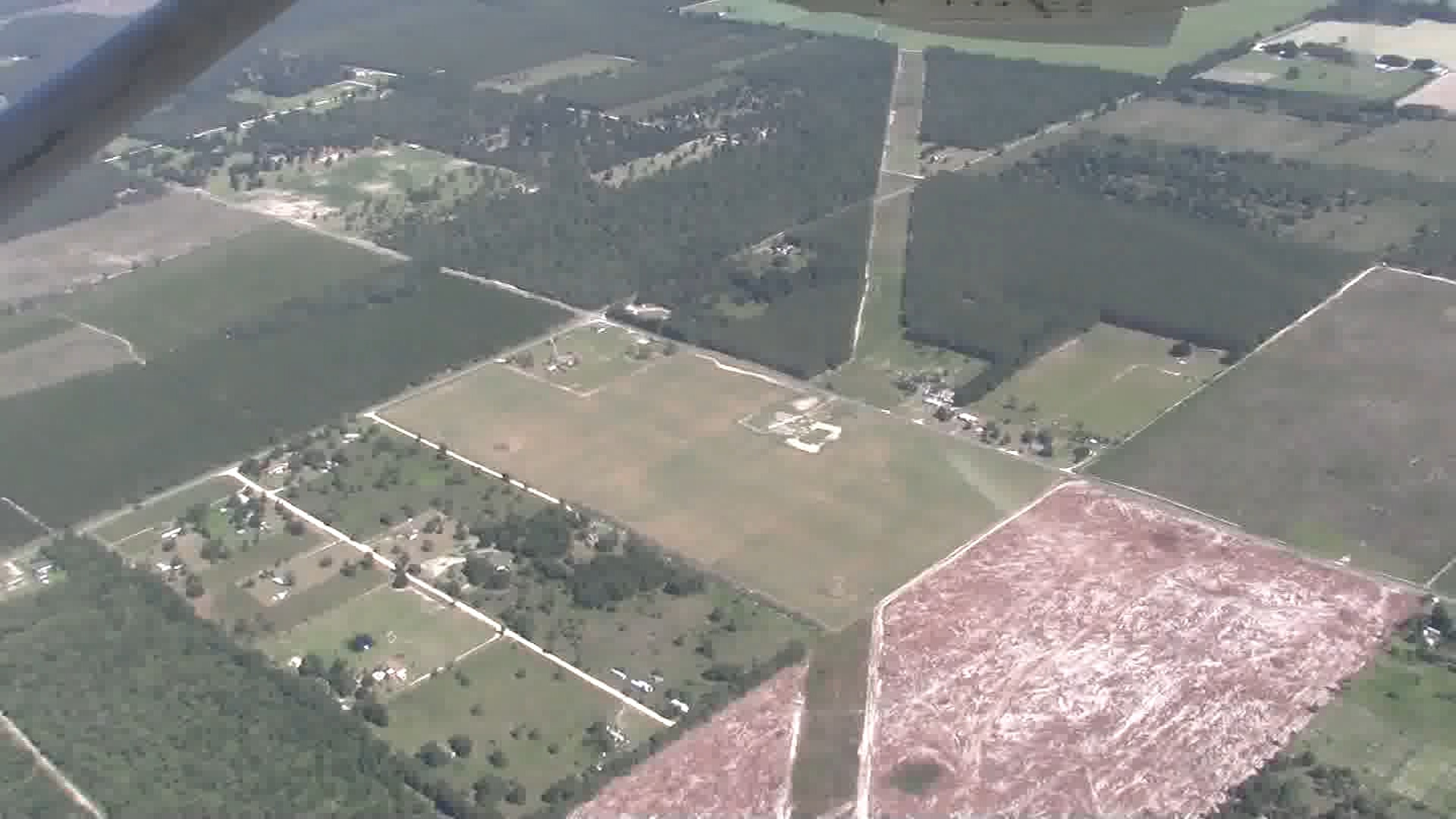 1920x1080 Pastured Life, Peurrung, Hildreth Compressor Station, in WWALS flies with Southwings, by John S. Quarterman, for WWALS.net, 21 June 2016