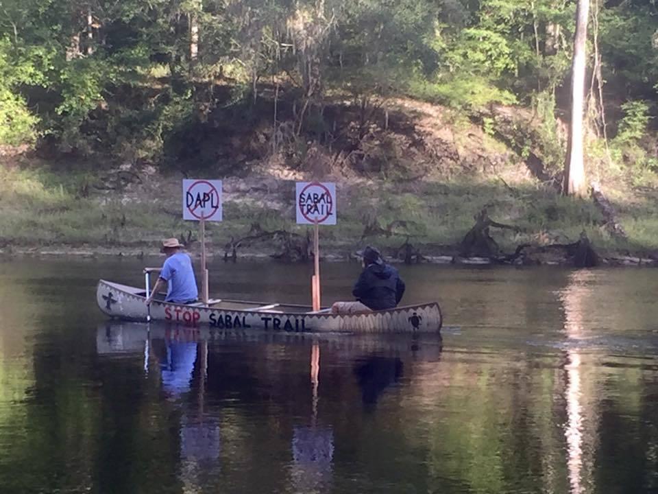 960x720 #NoDAPL #NoSabalTrail canoe, in Julie nodapl, by Julie Bowland, 13 September 2016