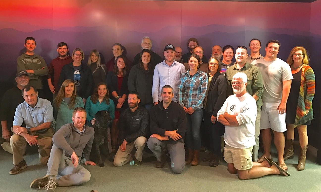 1296x777 Group, in Gulf and south Atlantic Waterkeeper Retreat, by Bart Mihailovich, for WWALS.net, 26 October 2016