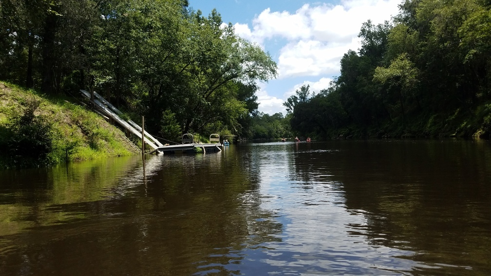 1008x567 Dock, 30.53191, -83.24928, in A fine day on the Withlacoochee River from Sullivan Landing to Madison Blue Spring, by John S. Quarterman, for WWALS.net, 24 June 2017
