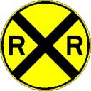 Railroad icon for maps