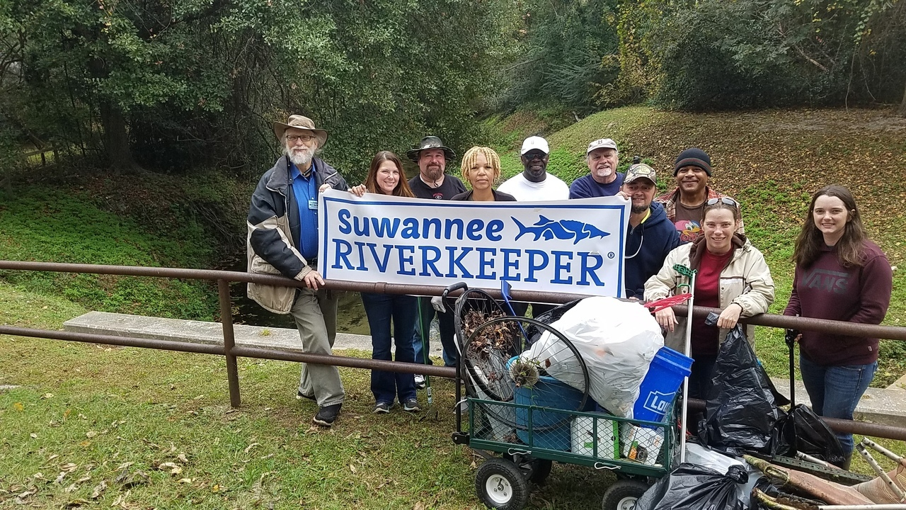1280x720 Say WWALS, Banner, in One Mile Branch Cleanup, by John S. Quarterman, for WWALS.net, 11 November 2017