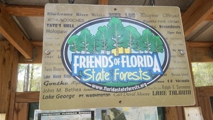 Friends of Florida State Forests, Kiosk