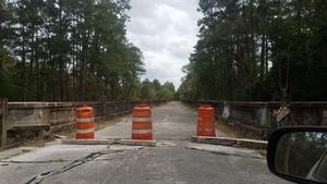 No driving across this bridge, 2017:03:25 15:34:02,, Closed Bridge 30.3865226, -83.1752326