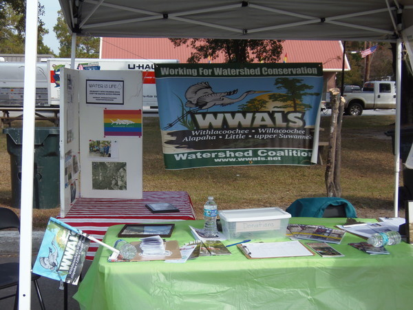 Sign up here, WWALS booth