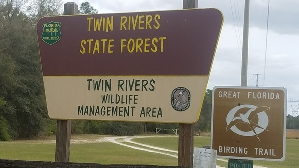 Great Florida Birding Trail, Entrance