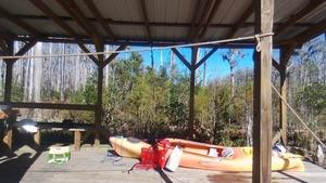 Dennis Prices kayak,, Drone 30.8612500, -82.3234480