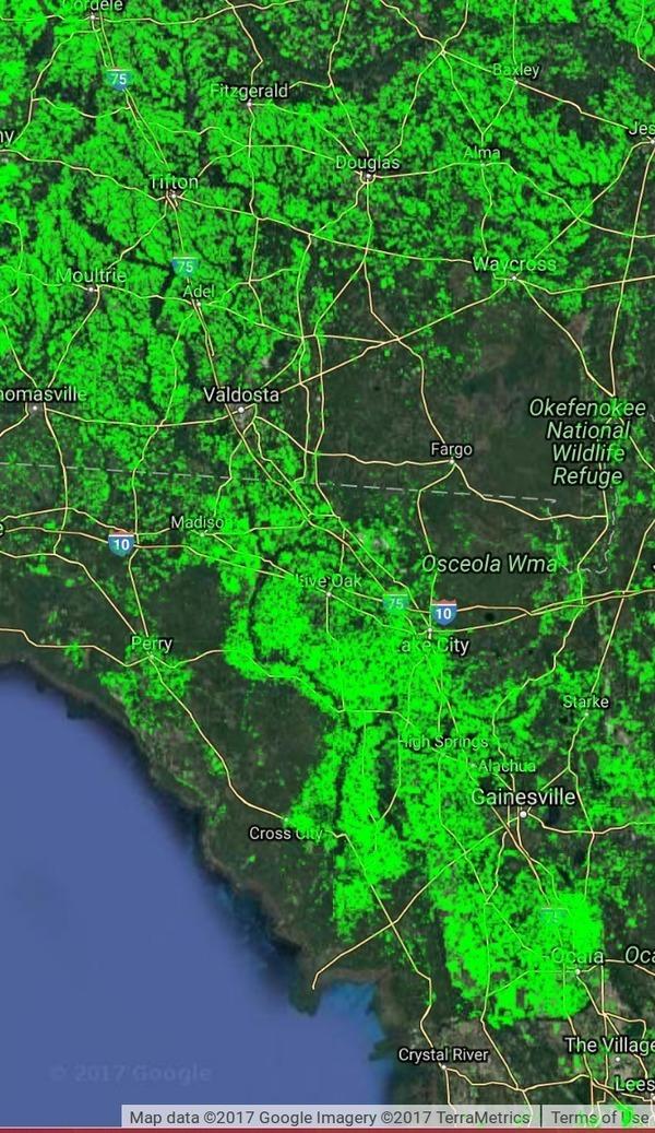 Basin, Maps