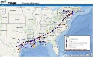 300x186 Transco, Maps, in Informational Postings: Transco, Sabal Trail, FSC, FGT, Gulfstream, by John S. Quarterman, for WWALS.net, 5 January 2018