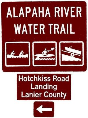 Hotchkiss Road Landing, Lanier County, Left, Posts