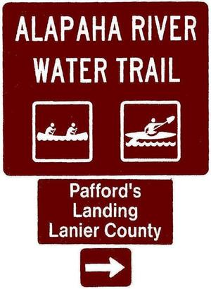 Pafford Landing, Lanier County, Right, Posts