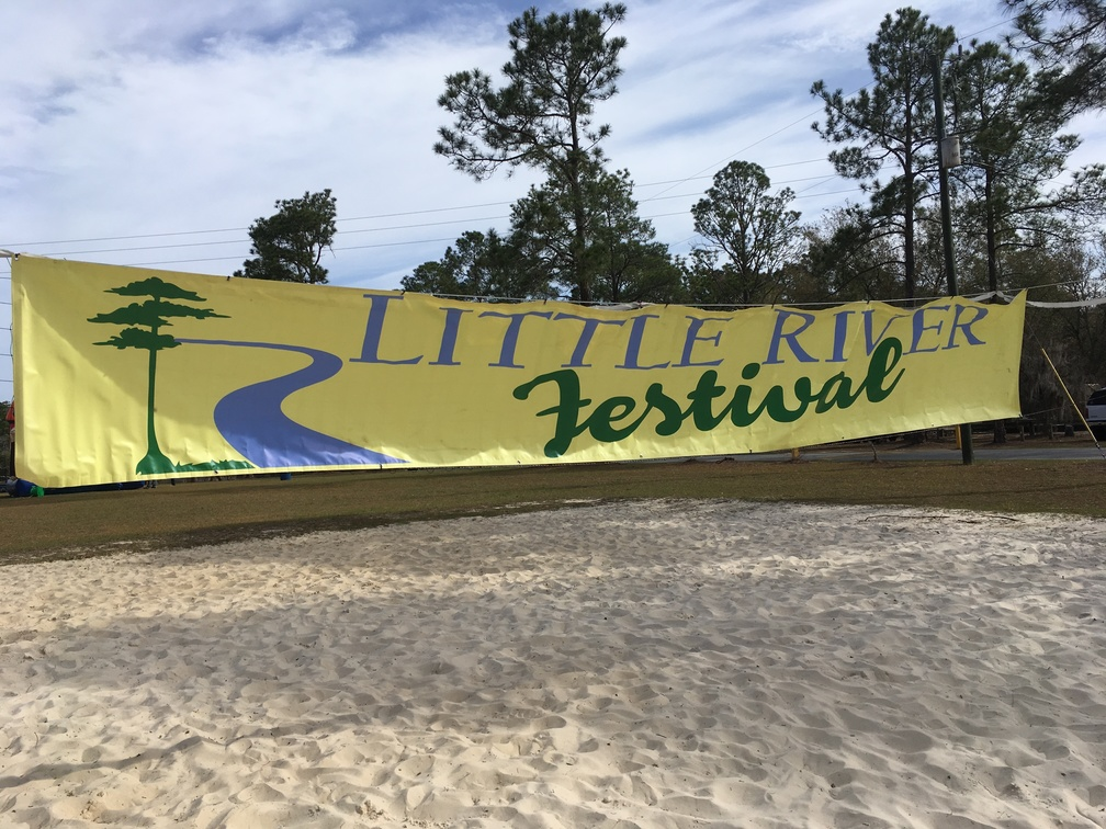 4032x3024 Festival Banner, Animals, in Little River Fest, by Gretchen Quarterman, for WWALS.net, 25 March 2017