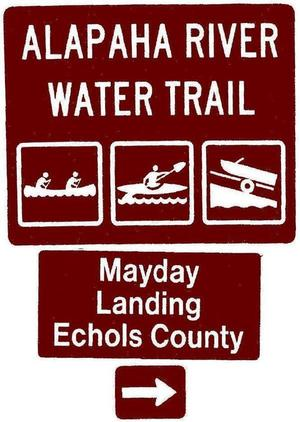 Mayday Landing, Echols County, Right, Posts