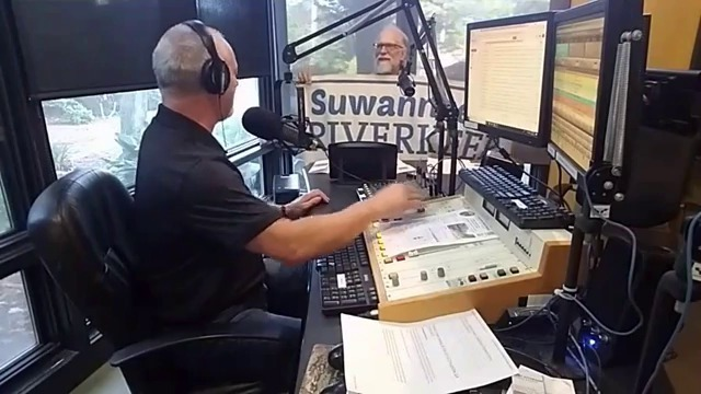 640x360 Suwannee Riverkeeper banner, Interview, in Video: Suwannee Riverkeeper on Steve Nichols Drive-time Radio, by WVGA, for WWALS.net, 24 April 2018