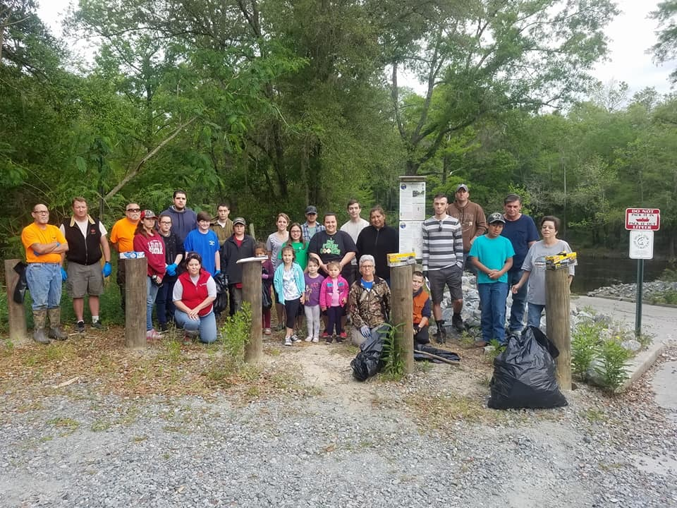 960x720 Scouts and all, Sign, in Pictures, Troupville Cleanup, by Bobby McKenzie, for WWALS.net, 21 April 2018