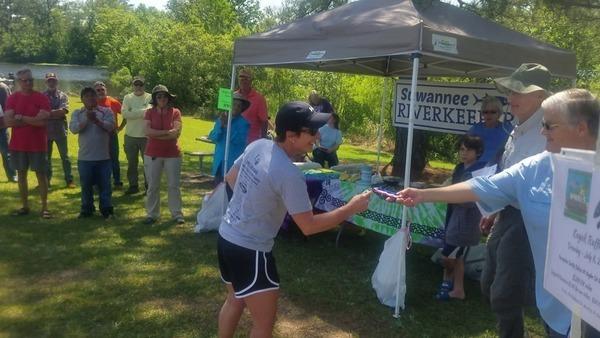 Solo female kayak: Tracey Vellidis, Tifton, GA, More winners