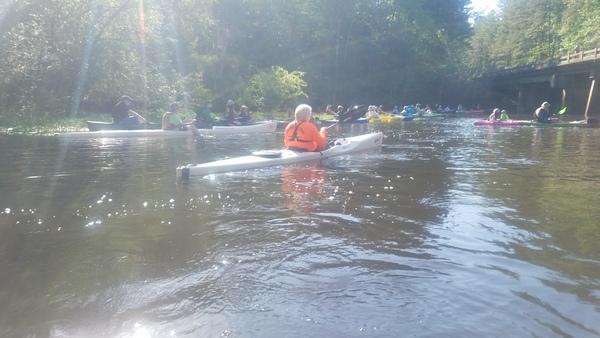Fast Kayak: Lloyd Reeves, Crescent City, FL, Ready...