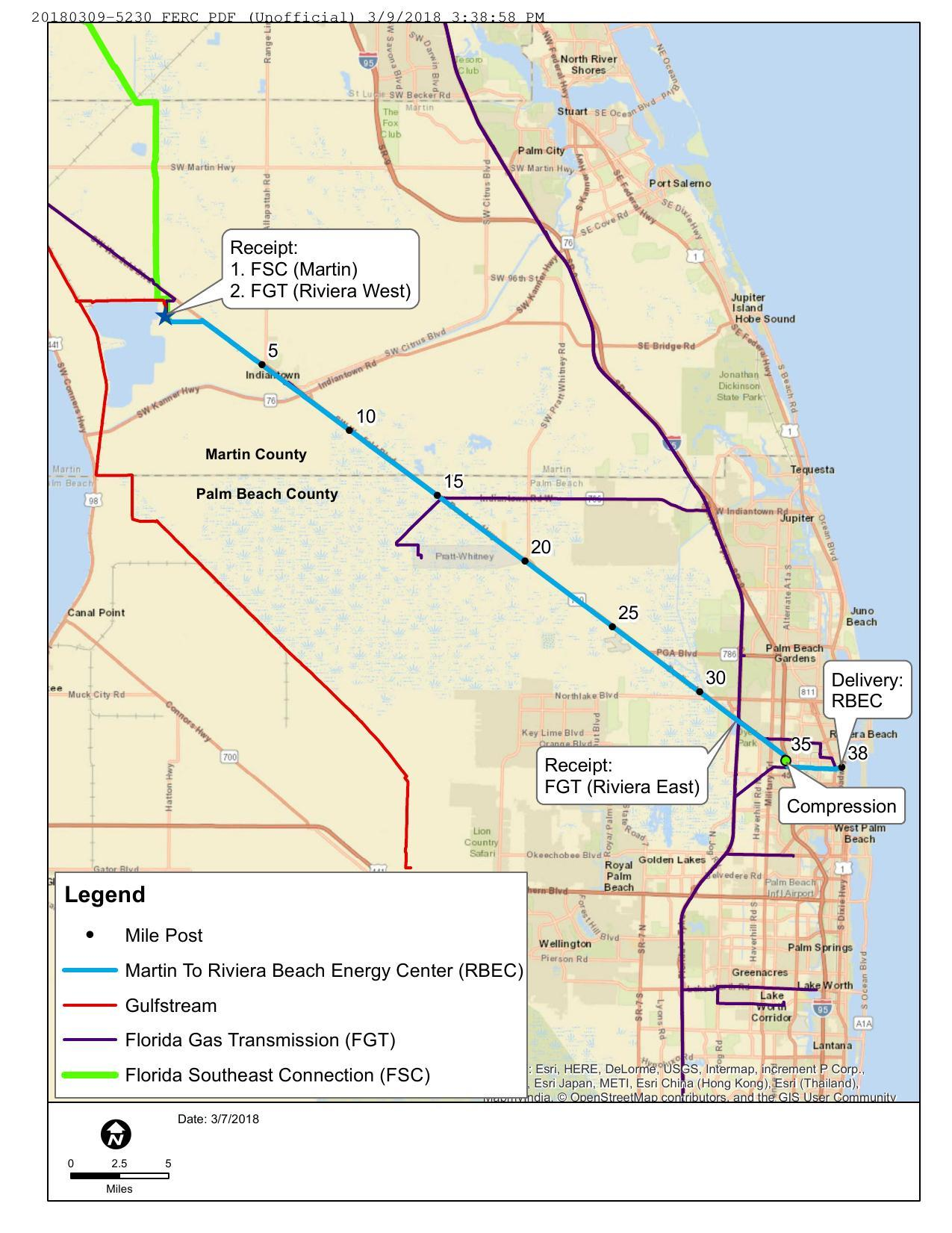 1275x1651 Indiantown to Riviera Beach, in FERC 20180309-5230, Docket CP18-108, MR-RV, in FPL files holiday weekend for Martin-Riviera Pipeline folded into FSC, by FPL via FERC, for WWALS.net, 31 October 2017