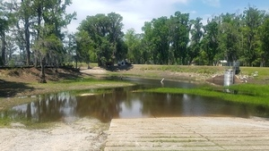 300x169 A clear paddle path into the lake, Boat Ramp, in Banks Lake Refilling, by John S. Quarterman, for WWALS.net, 26 April 2018