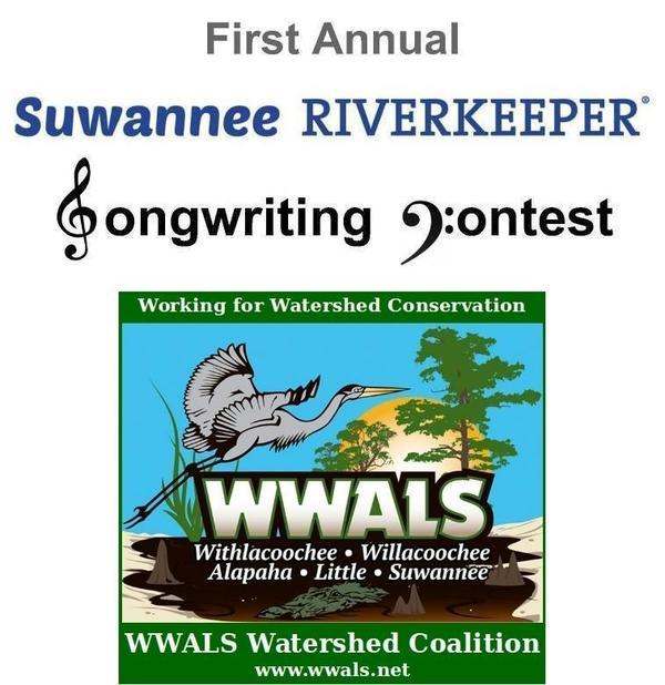 Suwannee Riverkeeper Songwriting Contest WWALS, Logo