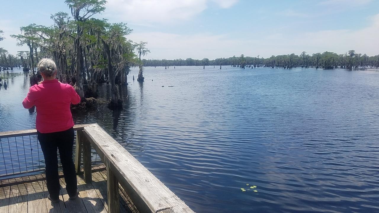 1280x720 Plenty to paddle on, Boardwalk, in Banks Lake Refilling, by John S. Quarterman, for WWALS.net, 26 April 2018