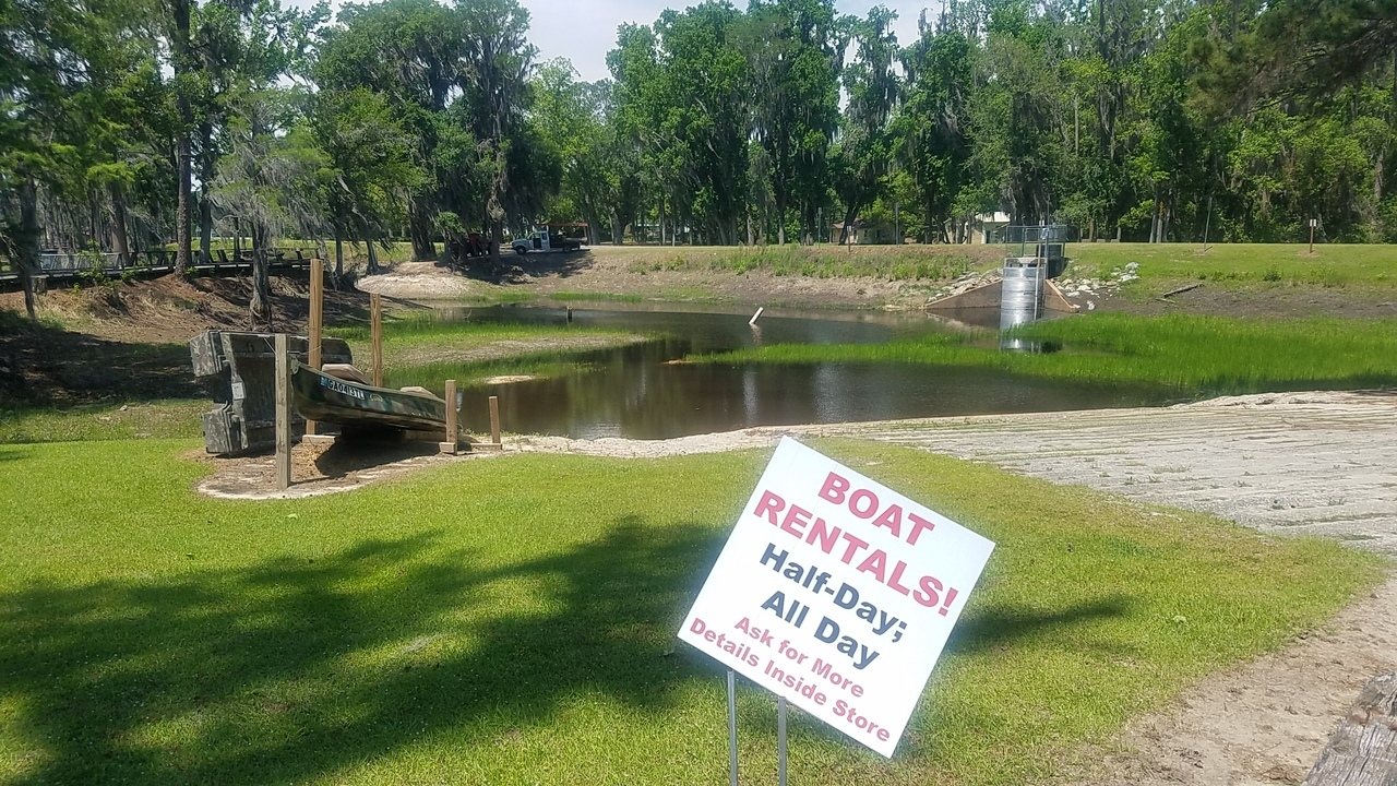 1280x720 Boat Rentals (probably wont be open), Boat Ramp, in Banks Lake Refilling, by John S. Quarterman, for WWALS.net, 26 April 2018