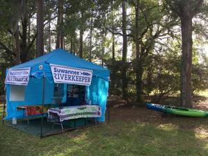 300x225 Open, Booth, in WWALS at Florida Folklife Festival, by Gretchen Quarterman, for WWALS.net, 25 May 2018
