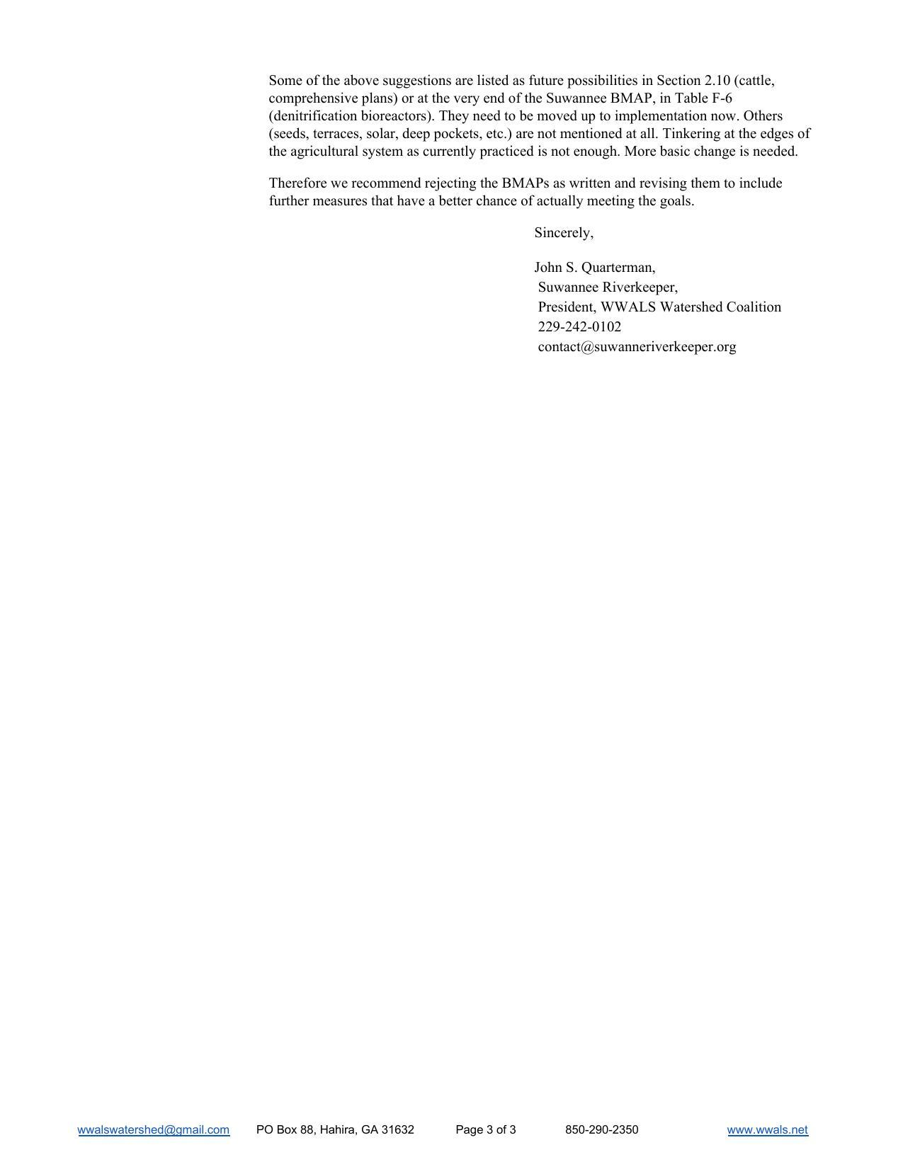 1275x1651 Try again, Pages, in WWALS to FDEP Re Suwannee River Basin Management Action Plan (BMAP), by John S. Quarterman, for WWALS.net, 31 May 2018