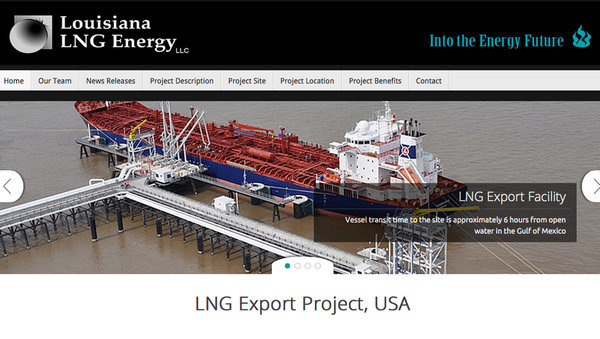 Louisiana LNG Energy LLC, in google cache