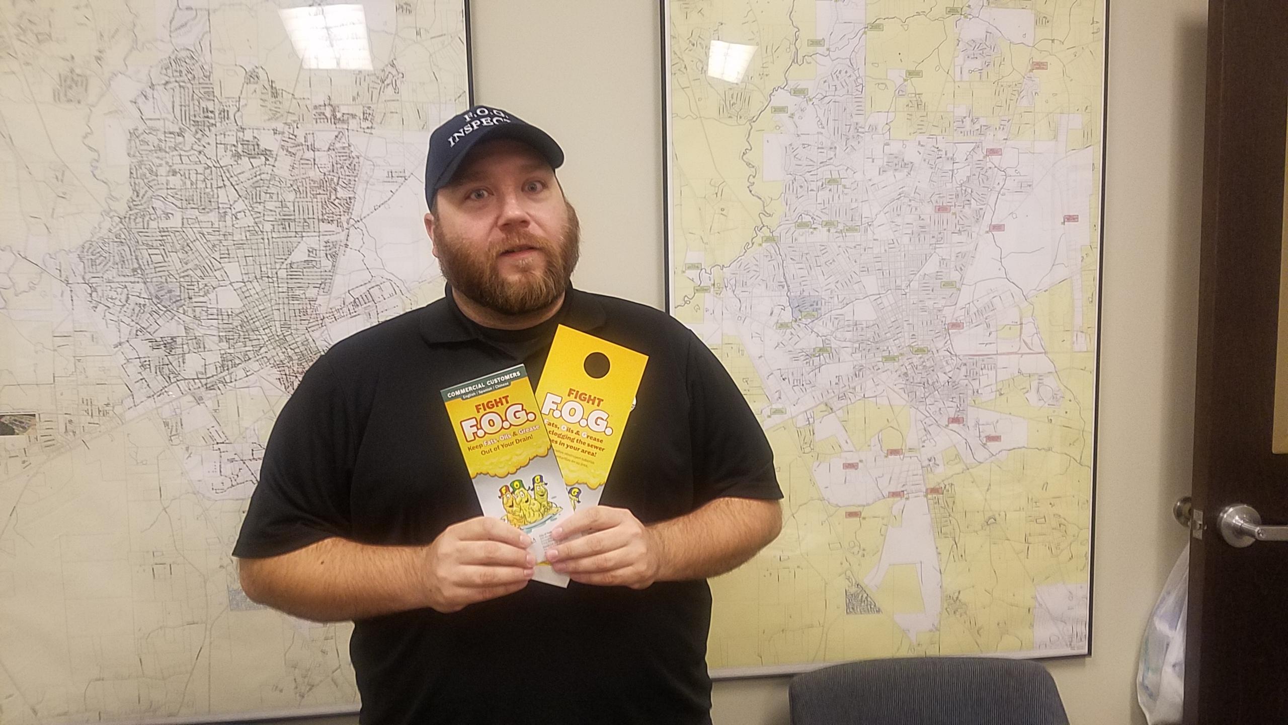 2560x1440 Joseph Gangler, FOG Prevention Program Technician, FOG, in Valdosta FOG, by John S. Quarterman, for WWALS.net, 8 August 2018