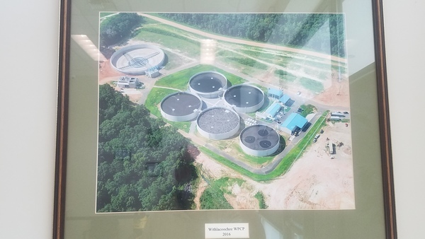Withlacoochee WPCP 2016, Wastewater Plants