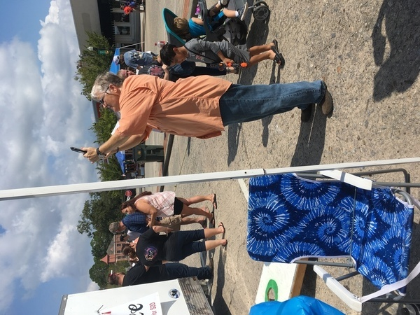 600x450 Amy tie-dye, WWALS booth, in Pictures: WWALS at Berrien County Harvest Festival, by Gretchen Quarterman, for WWALS.net, 30 September 2017