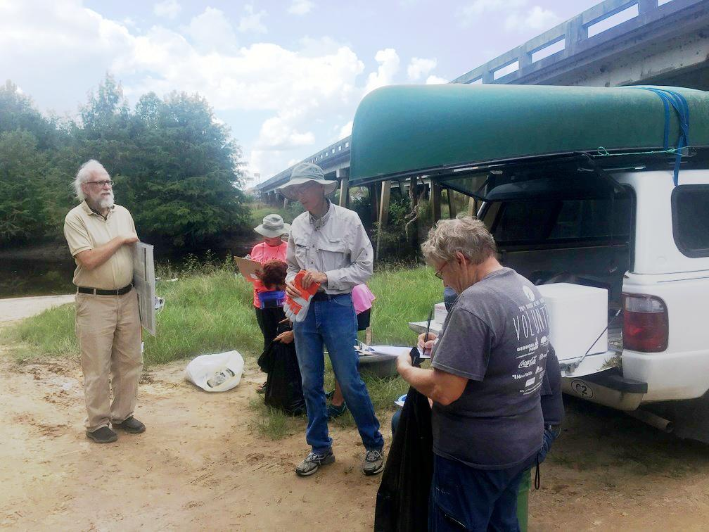 1008x756 jsq, unknown, Bret Wagenhorst, Heather Brasell, During, in WWALS Cleanup at Sheboggy Boat Ramp, US 82, Alapaha River, by Gretchen Quarterman, for WWALS.net, 9 September 2018