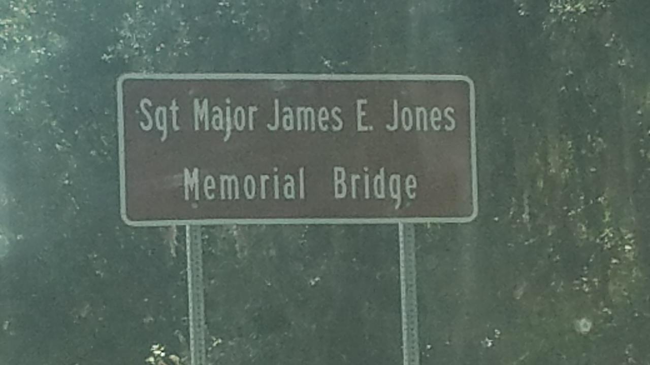 2560x1440 Sgt Major James E. Jones Memorial Bridge, Bridge, in Sheboggy Boat Ramp, by John S. Quarterman, for WWALS.net, 11 August 2018
