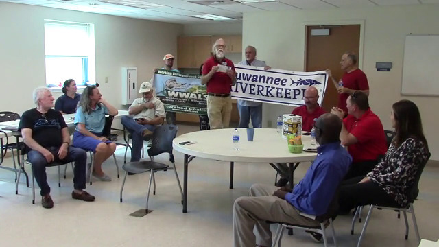 640x360 Suwannee Riverkeeper, , in Tour of Valdosta WTPs, by John S. Quarterman, for WWALS.net, 3 October 2018
