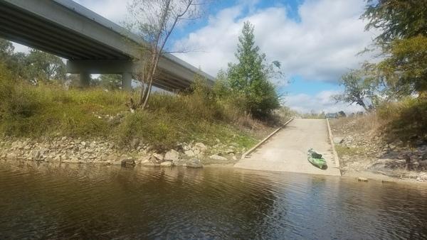 Bridge and ramp, 14:15:54,, State Line Boat Ramp