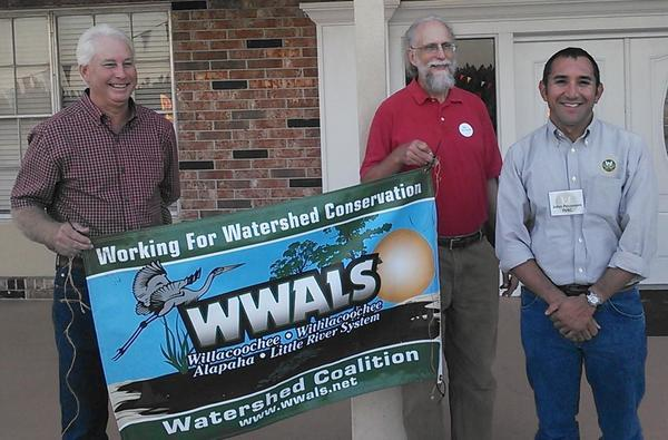 Chris Mericle, John S. Quarterman, and John Peconom of FERC, Open House