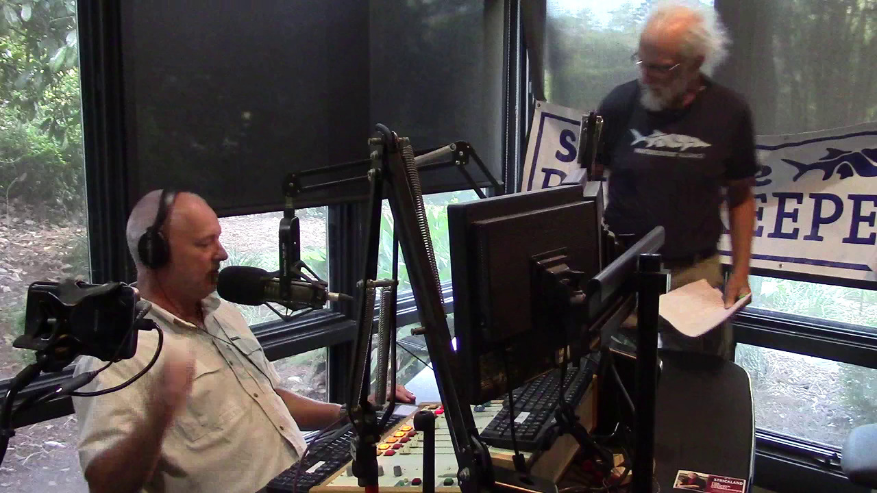 1280x720 On air, Movie, in Video: Paddle races, water trails, and Sabal Trail jury trials; Suwannee Riverkeeper on WGOV Radio, by Gretchen Quarterman, for WWALS.net, 13 September 2018